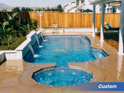 Custom swimming pools for your backyard in southern PA