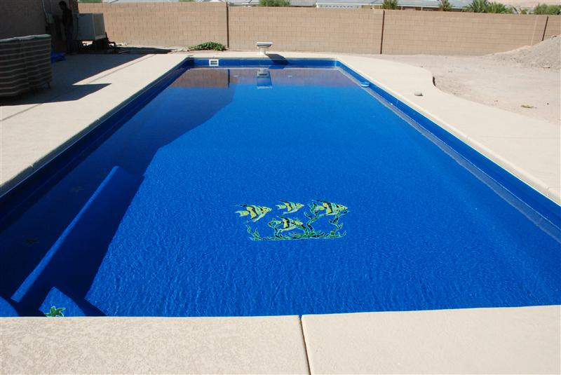 Heritage Pools Swimming Pool Decorative Mosaic Tiles