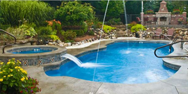 Heritage pools swimming pool construction installation - Swimming pool loans interest rates ...
