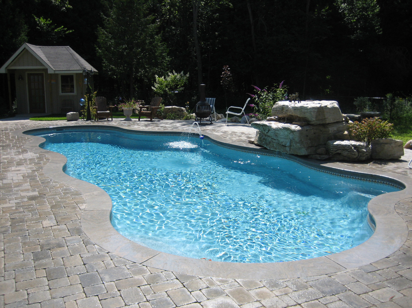 Heritage Pools Viking Pools Fiberglass Swimming Pool